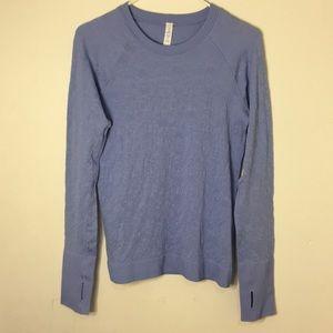 lululemon Purple Long Sleeve Top